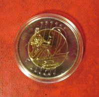 Probe Münze Specimen Essai 2 Principaute De Monaco 2005 - Monaco