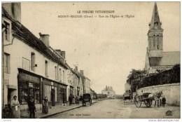 61 BOISSY-MAUGIS Rue De L´Eglise-Très-animée, Commerces - France