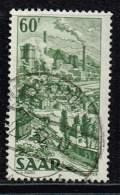 Saarland 1949, Michel# 287 O - 1947-56 Allierte Besetzung