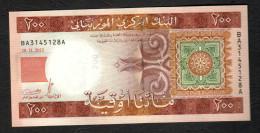 MAURITANIA   : Banconota 200 Ouguiya - 2013  - UNC - Mauritania
