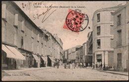 DC1204 - LODÈVE - LES RÉCOLLETS - BOULEVARD DE LA LIBERTÉ 1906 - Lodeve