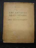 Liv. 181. Maria Biermé. Les Artistes De La Pensée Et Du Sentiment 1912, Dédicacé. CL3 480 Gr - Art