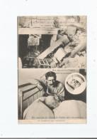 CRIME D'USSEAU PRES CHATELLERAULT (VIENNE) LA CHAMBRE DE ROY APRES L'EXPLOSION .ROY DANS SON LIT D'HOPITAL - Autres Communes
