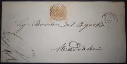 ANNULLI NUMERALI CAMPANIA: NUMERALE SCAFATI Salerno - 1861-78 Victor Emmanuel II