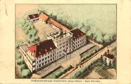- Haut  Rhin -ref - A543 - Riespach - Preventorium - Gare Ferrette - Preventoriums - Sante - D Apres Un Dessin - - Ferrette