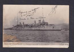Prix Fixe - Marine Nationale - Croiseur Rapide Guichen ( Carte Photo Campagne D' Orient ) - Guerra