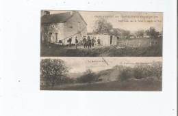 CRIME D'USSEAU PRES CHATELLERAULT (VIENNE) MAI 1905. POSTE ETABLI CHEZ M ROBIN ET MAISON DE ROY . LA MAISON DE ROY - Autres Communes