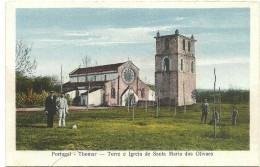 Thomar - Torre E Igreja De Santa Maria Dos Olivaes - Leiria