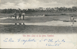 TT DIVERS / The Pitch Lake Ef La Brea / - Trinidad
