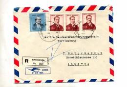 Lettre Recommandee Kasimpasa Sur Roi - 1921-... Republic