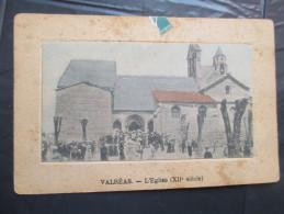 Cpa 84 Valreas Sortie De L'eglise - Valreas