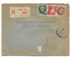 ENVELOPPE 1943 Avec AR - 1921-1960: Moderne