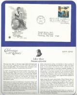 USA 1998 - JOHN MUIR - PRESERVATIONIST - FDC - Oblitérés