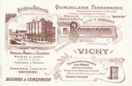 Buvard - Magasin - Quincaillerie Ferronnerie - E. Bourgeois - Vichy - M