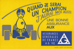 Buvard - Assurances Générales De France - A.G. Vie - Banque & Assurance