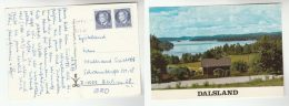 1983  SWEDEN Stamps COVER  (postcard DALSLAND) To Germany - Covers & Documents