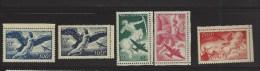 Série Mythologique - 1927-1959 Mint/hinged