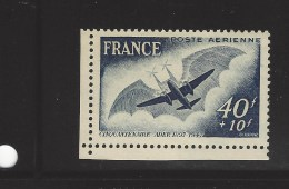 50éme Anniversaire Vol De Clément ADER - 1927-1959 Mint/hinged