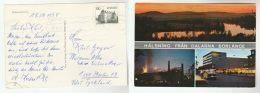 1978 SWEDEN Stamps COVER  (postcard BORLANGE) To Germany - Sweden