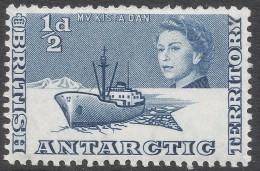 British Antarctic Territory. 1963-69 QEII. ½d MH. SG 1 - Unused Stamps