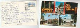 1973 SWEDEN Stamps EVENT COVER  LISEBERG 50th ANNIV To Germany Postcard - Sweden