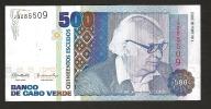 CAPE VERDE (CABO VERDE) :  500 Escudos  - 2002- UNC - Capo Verde