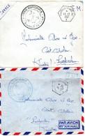 Flotille-Duquesne 4 Env A Voir-une Poste Navale 1957 - Posta Marittima