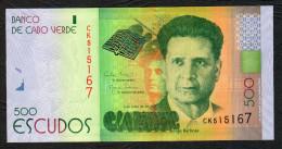 CAPE VERDE (CABO VERDE) :  500 Escudos - 2014 - UNC - Capo Verde