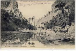 ALGERIE  EL KANTARA Les Gorges Biskra Province VOYAGE 1913 - Other