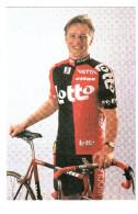 CPM SAMMIE MOREELS COUREUR CYCLISTE CYCLISME VELOLOTTO ISOGLASS VETTA ECHO LITUS - Cyclisme