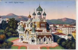 NICE - Eglise Russe - Monuments, édifices