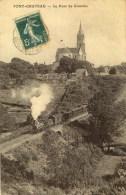 D 44 - PONT-CHATEAU - Le Pont De Grénébo Avec Train - Pontchâteau