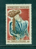 N°1445 Variété Main Bleue, Neuf ** - Variétés Et Curiosités