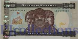 ERITREA 50 NAKFA 1997 PICK 5 - Erythrée
