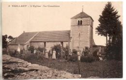 52. Vaillant. L'eglise. Le Cimetiere - Francia