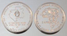 Gabon 4500 CFA 2005 Oil Argent Pur .999 Pape - Gabon
