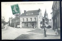 Cpa Du 18  St Martin D´ Auxigny -- Place Du Pont   LIOB64 - Zonder Classificatie