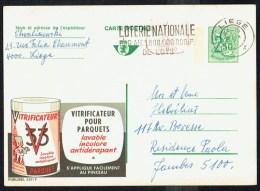 """CP Public. N° 2511-P010  """" Vitrificateur Pour Parquets V33  """" - Circulé / Used - 1972. - Entiers Postaux"""