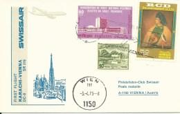 RF 73.5, Swissair, Karachi - Wien, FSt175, DC-8, 1973 - Primi Voli