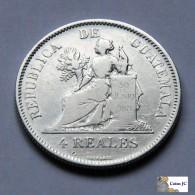 Guatemala - 4 Reales - 1894 - Guatemala