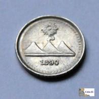 Guatemala - 1/4 Real - 1890 - Guatemala