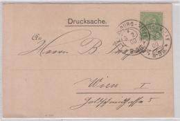 Drucksache Der Firma AURES % Co - Luxemburg 1900 - Private