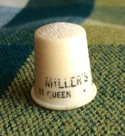 THIMBLES - DÉS À COUDRE - Granby - MILLER'S RADIO SERVICE, 11 QUEEN, GRANBY, QUEBEC  - - Dés à Coudre