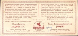 Publicité Reclame Premiebon Bon Chocolat Jacques  Chocolade Eupen - Chocolat