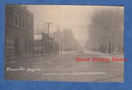 CPA Photo RPPC - DEER LODGE , Montana - Missouri Avenue - May 4th 1913 - Publicité Use Rex Flour Advertising - Etats-Unis