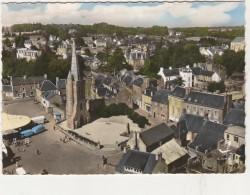CPSM -   22 - PAIMPOL - La Vieille Tour Et Le Square Botrel  167 - Paimpol