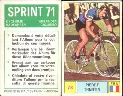 Wielrennen Cyclisme Coureur Pierre Trentin - Sprint 71 - Panini Modena - Cyclisme