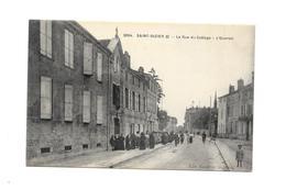 SAINT DIZIER (Haute Marne) La Rue Du Collège - L'Ouvroir  -carte Animée - Saint Dizier