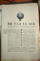 AFFICHE REVOLUTION. FAC-SIMILÉ - 93 - DE PAR LE ROI.. (FAIT À BOURGES LE 11 AVRIL 1789) - Affiches