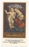 Beata Vergine Della Misericordia - Venerata A Cusercoli - B.5 - Devotion Images
